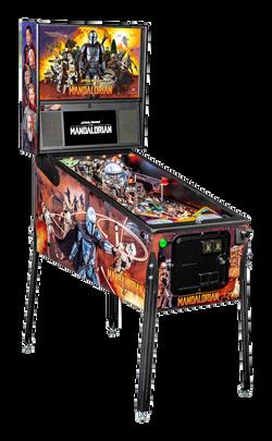 Pinball Pirate Mandalorian Premium 001