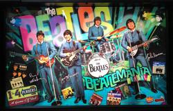 Beatles-Pinball-Machine-Backglass