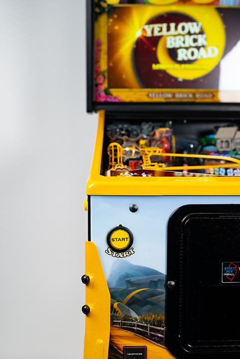 WoZ Yellow Brick Road Pinball Machine 04