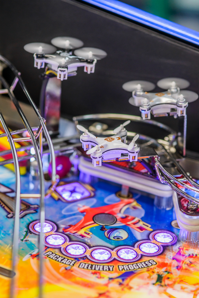 Dialed In Pinball Drones