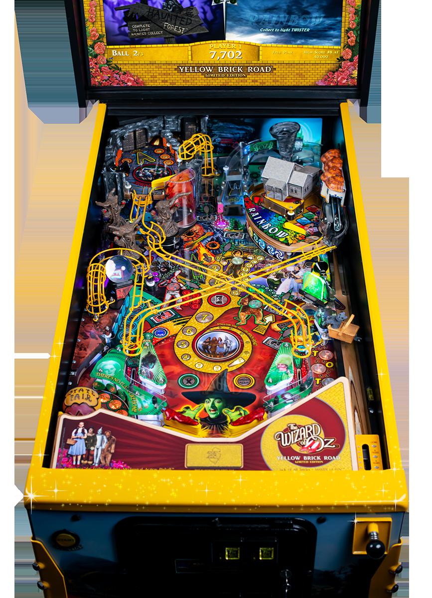 WoZ Yellow Brick Road Pinball Machine 10