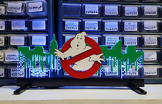 Stern Ghostbusters Sign On