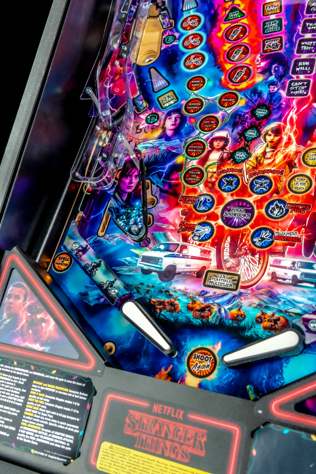 Stranger-Things-Pinball-Machine-Premium-