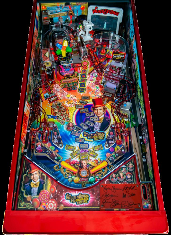 Willy Wonka Pinball Machine Playfield Ap
