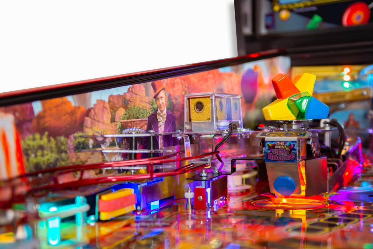 Willy Wonka Pinball Machine Playfield Le