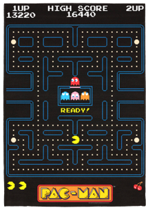 Pac-Man Carpet