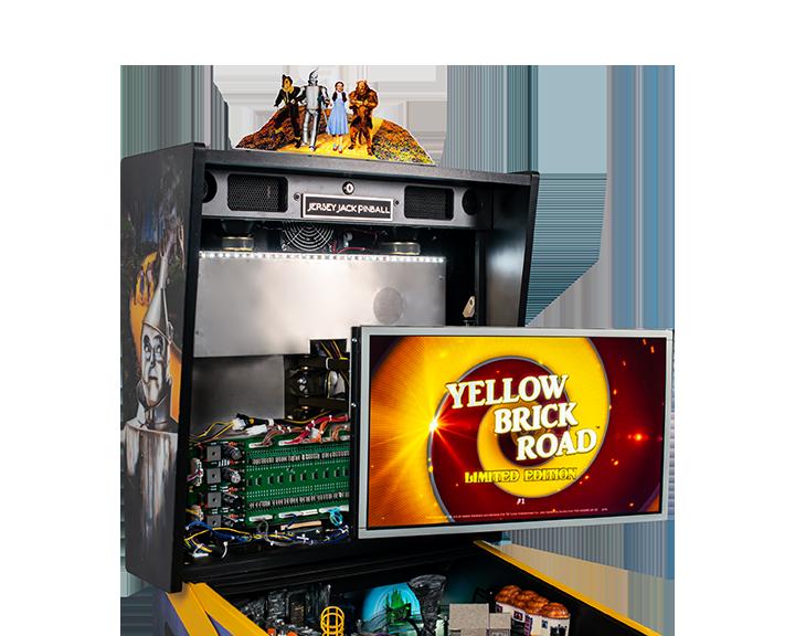 WoZ Yellow Brick Road Pinball Machine 06