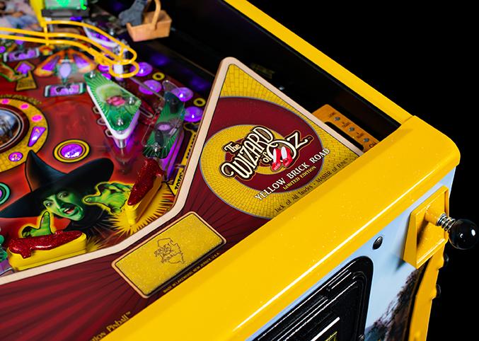 WoZ Yellow Brick Road Pinball Machine 03