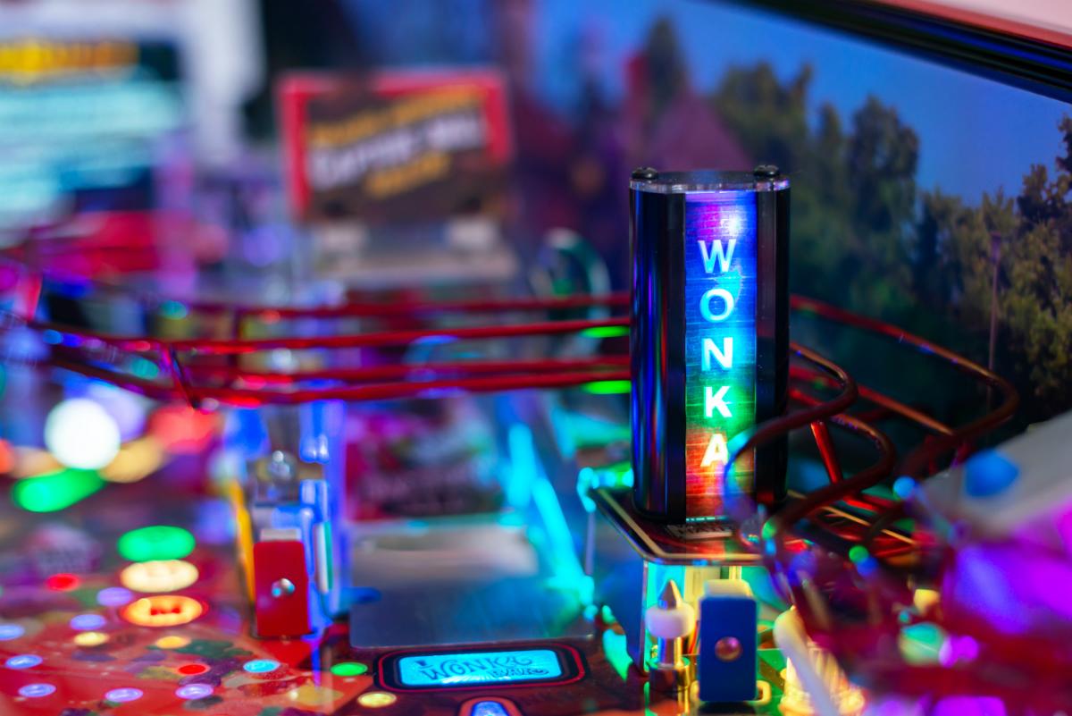 Willy Wonka Pinball Machine Playfield 2.