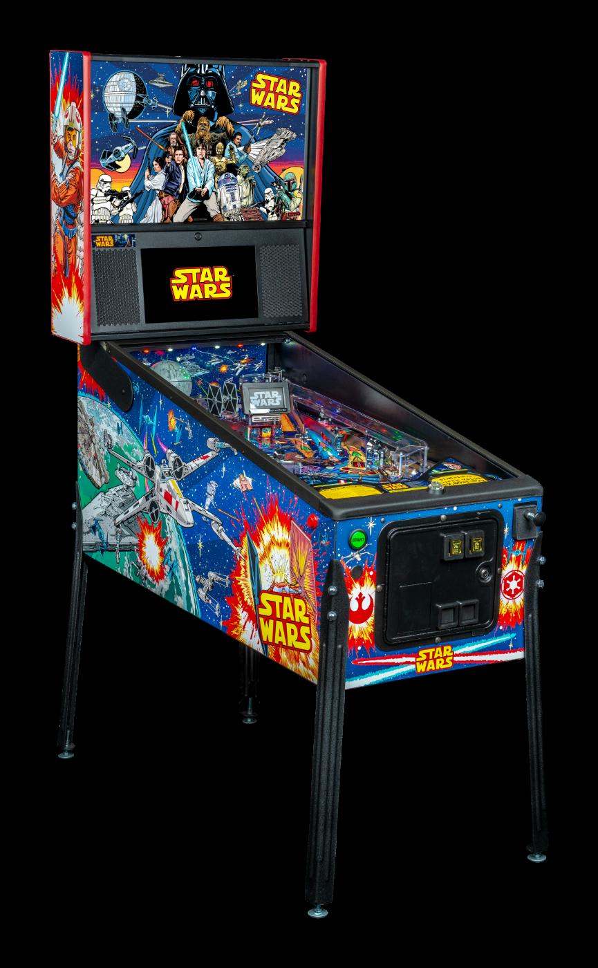 Stern Pinball Machine Star Wars Pro Cabi