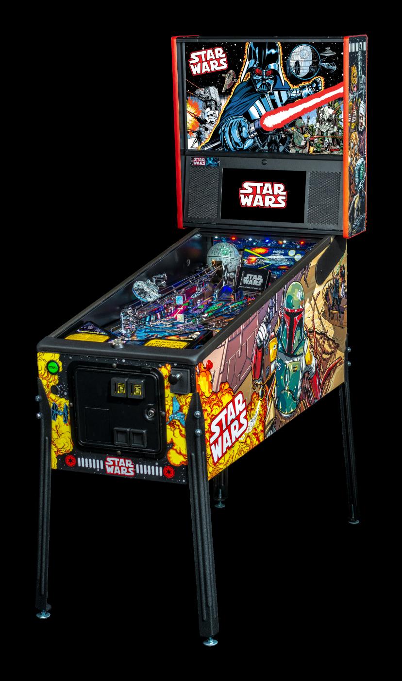 Stern Pinball Machine Star Wars LE Cabin
