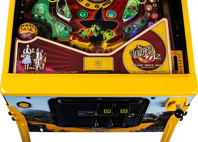 WoZ Yellow Brick Road Pinball Machine 02