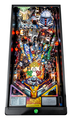 Pinball Pirate Mandalorian Premium 004