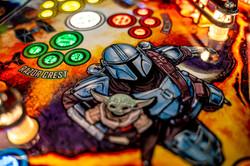 Pinball Pirate Mandalorian Pro 13
