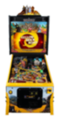 WoZ Yellow Brick Road Pinball Machine 07