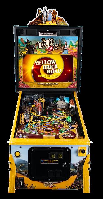 WoZ Yellow Brick Road Pinball Machine 07