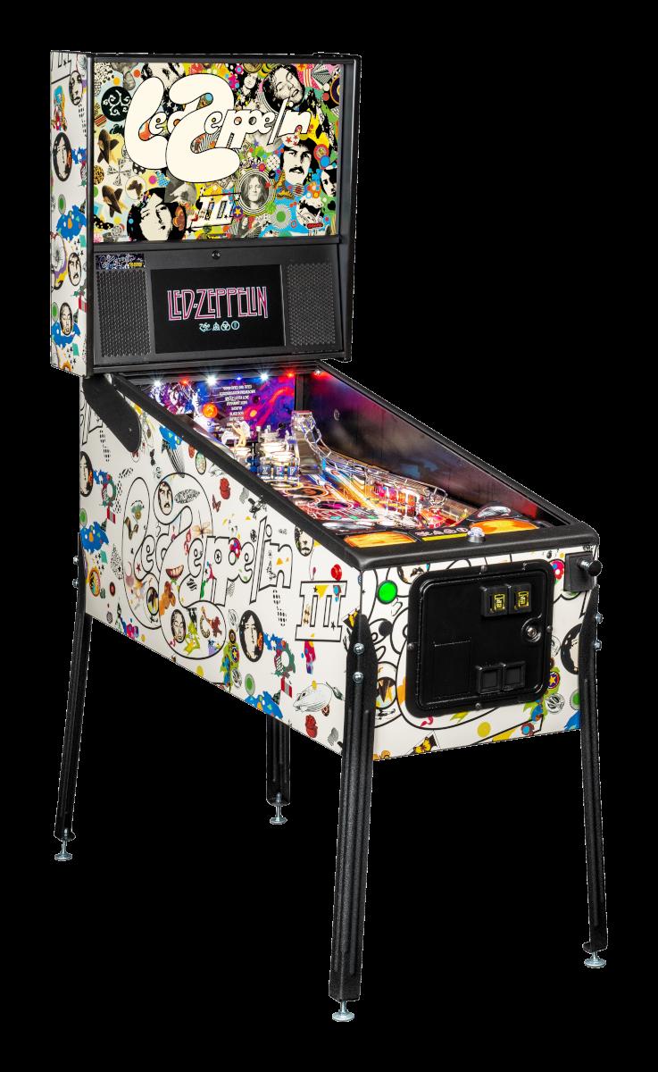 Stern Led Zeppelin Pro Cabinet-RF Pinbal