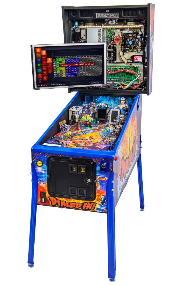 Dialed In LE Pinball - backbox