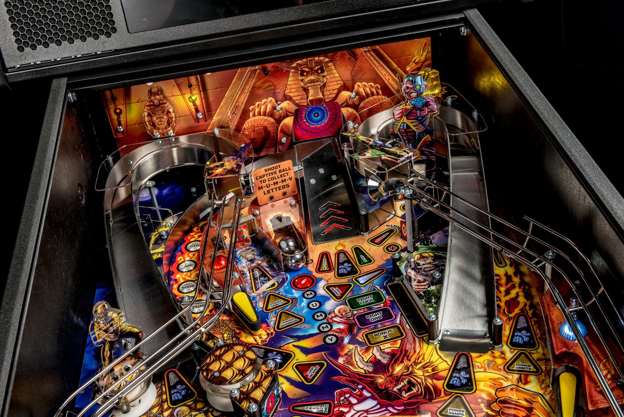 Iron Maiden Pinball Machine 05