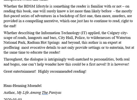 New Review by Author
