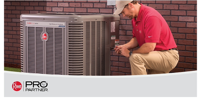 Archie's Heating & Cooling is a certified Rheem Pro Parterner