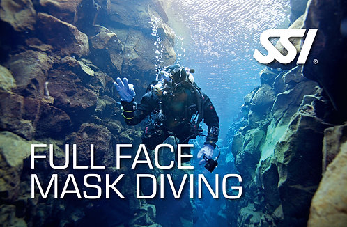 Full Face Mask Diving With Open Water