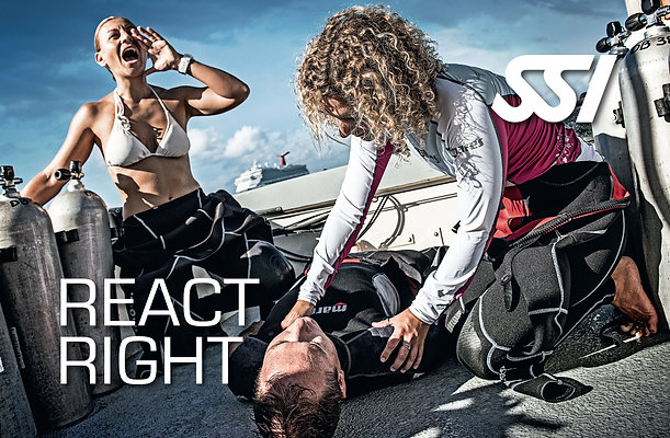 React Right CPR/First Aid/O2