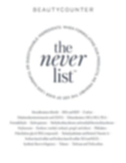 beautycounter the never list.jpg
