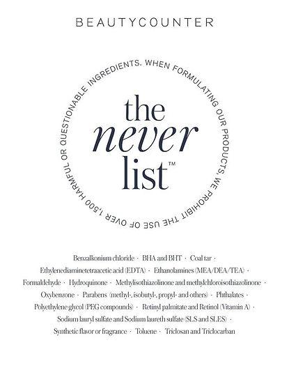 beautycounter the never list.jpg