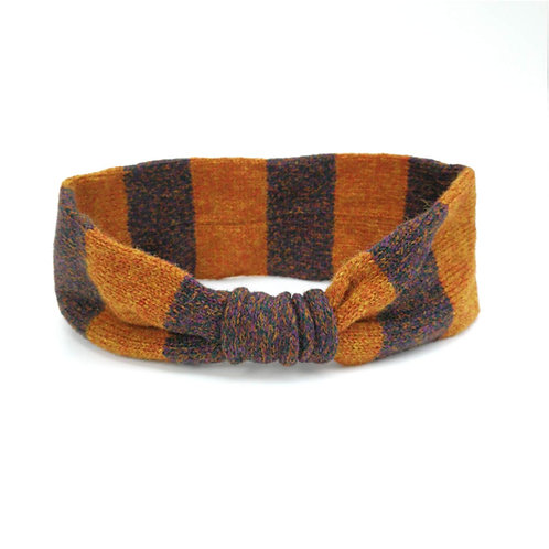Ear Cosy in ginger and conker