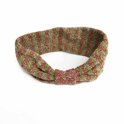 Ear Cosy in boucle yarn mix
