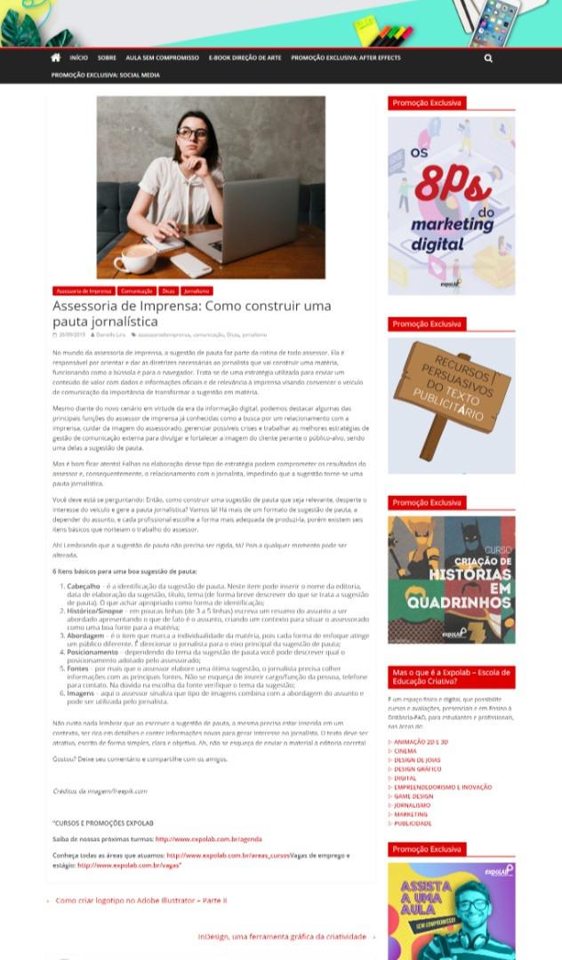Artigo Blog ExpoLAB