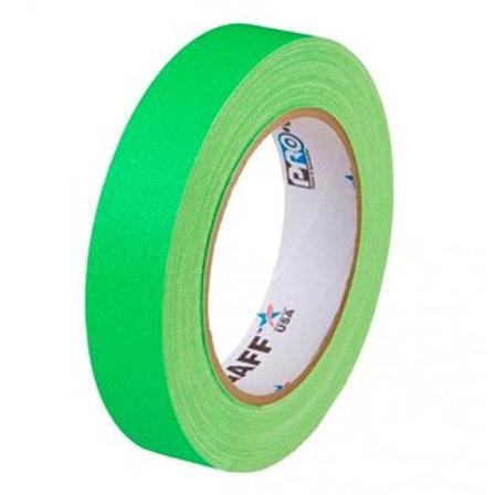 ProGaff Neon Tape green 24mm x 22,86m