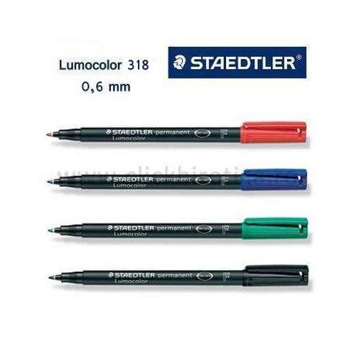 STAEDTLER permanent Lumocolor 318