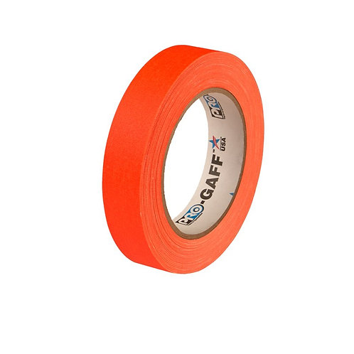 ProGaff Neon Tape orange 24mm x 22,86m