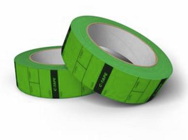 C-Tape DIT Tape green - ca. 250 Reel Tags