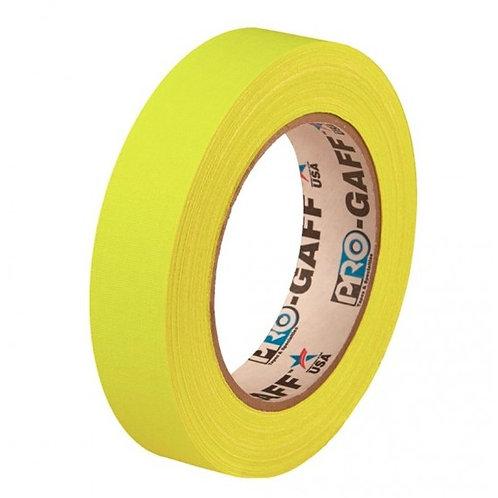ProGaff Neon Tape yellow 24mm x 22,86m