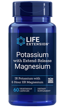 Kálium és 6 órás kiterjesztett hatású magnézium