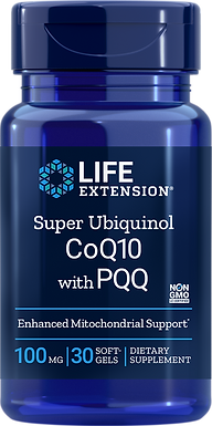 Super Ubiquinol CoQ10 with PQQ 100mg - 30 Softgels