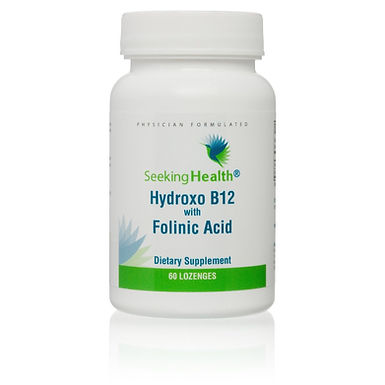 Hydroxo B12 with Folinic Acid - 60 Lozenges