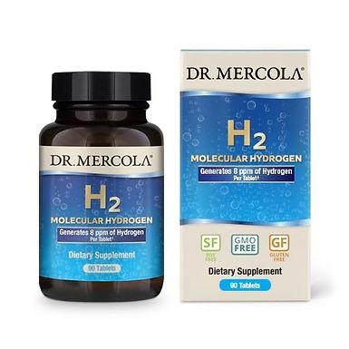 Dr Mercola molekuláris H2- hidrogénezett víz előállítására 90 tabletta