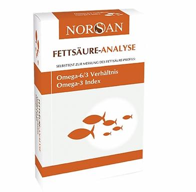 NORSAN Omega 3  elemzés- teszt 1 csepp vérből