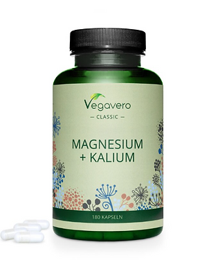 Magnézium + Kálium  180C