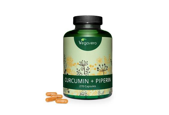 Kurkumin + Piperine 270C kapszula