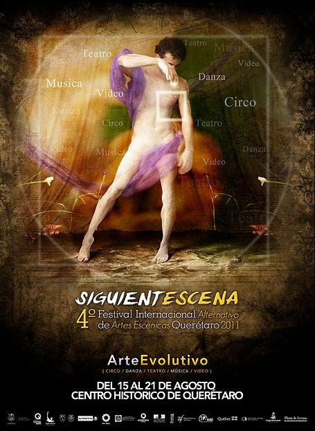 Siguientescena Festival Internacional Alternativo de Artes Escenicas Queretaro 2011