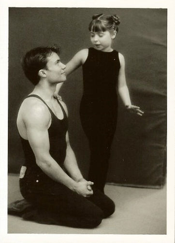 Stephan Choiniere with young student