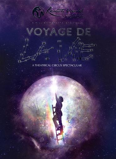Poster advertisement for Voyage De La Vie