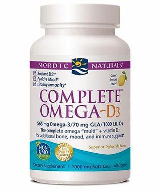 Omega-D3 komplex lemon- 120 kapszula
