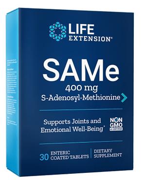 SAMe - hangulat, ízület és máj segítő