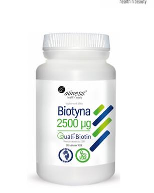 Biotin 2500mcg  tabletta